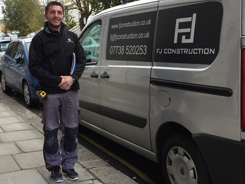 Fatjon Jakupaj Owner FJ Construction Limited